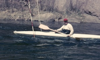 1961 Larry Zuk on the South Platte River