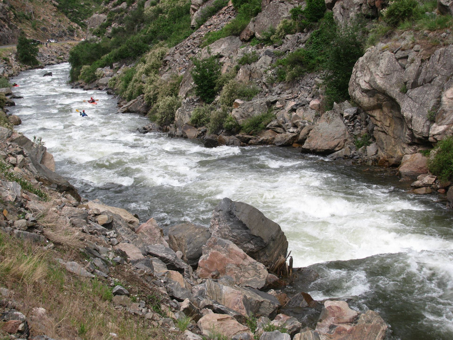Colorado Whitewater - More on the Peaks to Plains Trail
